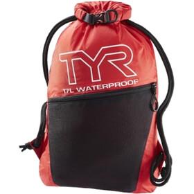 TYR Alliance Waterproof Sackpack, rood/zwart